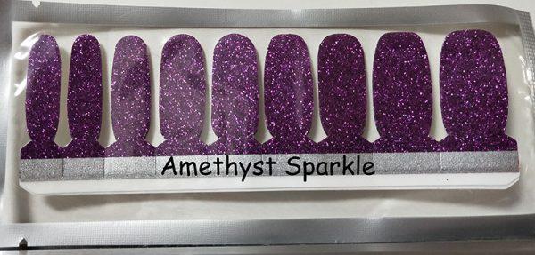 Amethyst Sparkle Nail Wraps