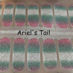 Ariel's Tail Nail Wraps