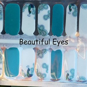 Beautiful Eyes Nail Wraps