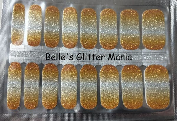 Belle's Glitter Mania Nail Wraps