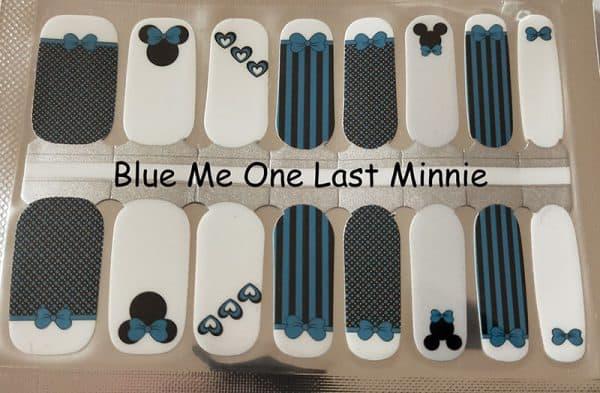 Blue me One Last Minnie Nail Wraps