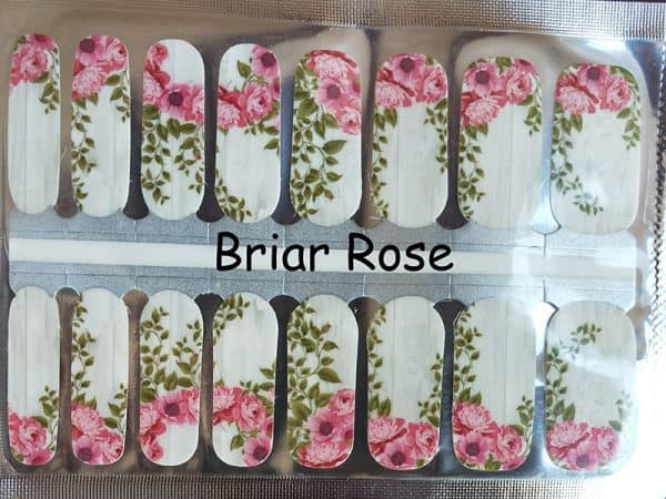 Briar Rose Nail Wraps