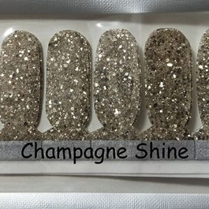 Champagne Shine Nail Wraps