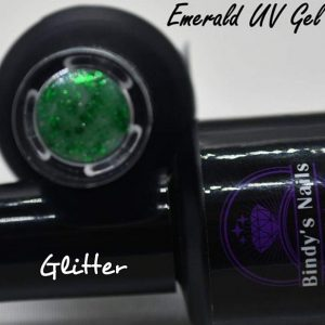 Emerald UV Glitter Gel