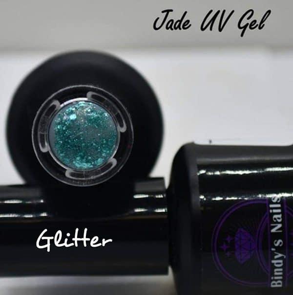 Jade UV Glitter Gel