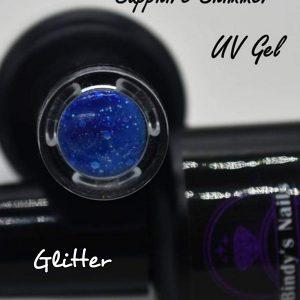 Sapphire Shimmer UV Glitter Gel