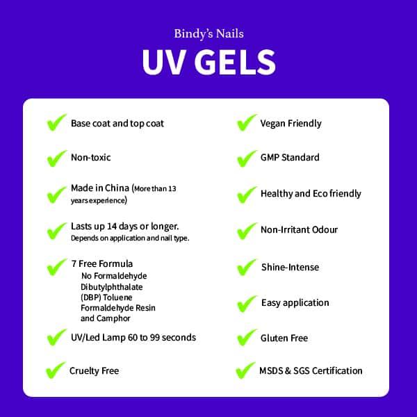 UV Gel specifications