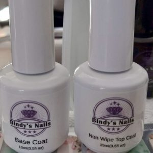 Bindy's Base Coat and Non-Wipe Top Coat
