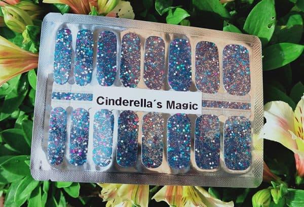 Cinderella's Magic Nail Wraps