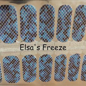 Elsa's Freeze Nail Wraps