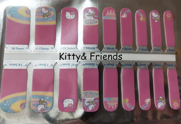 Kitty & Friends Nail Wraps