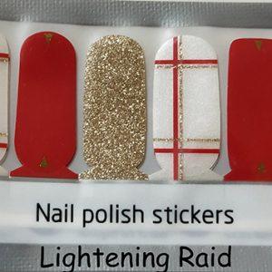 Lightening Raid Nail Wraps
