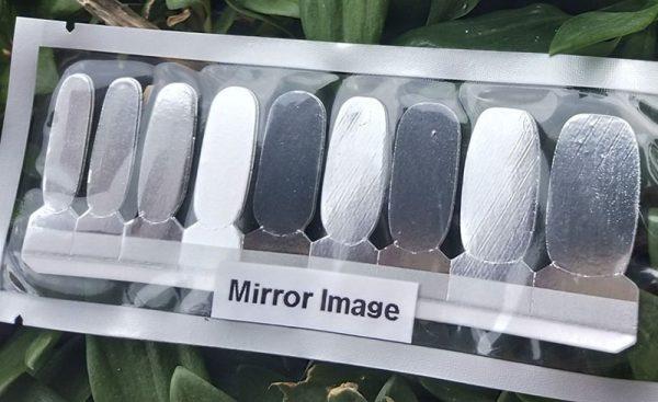 Mirror Image Nail Wraps