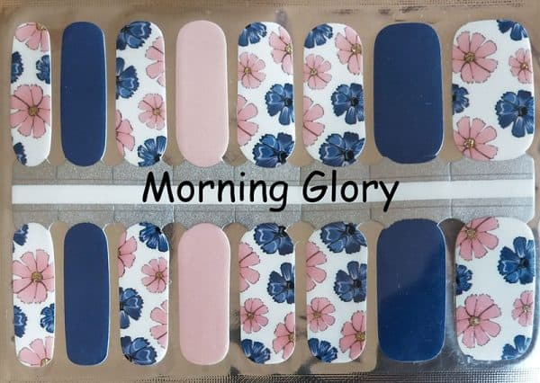 Morning Glory Nail Wraps