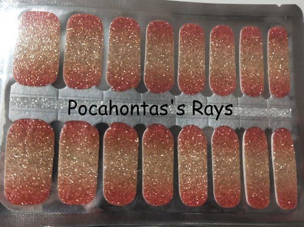 Pocahontas's Rays Nail Wraps