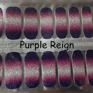 Purple Reign Nail Wraps
