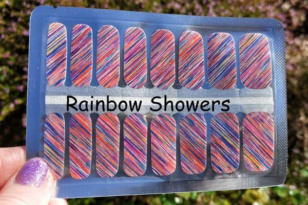 Rainbow Showers Nail Wraps