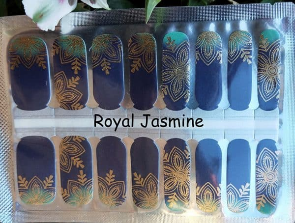 Royal Jasmine Nail Wraps