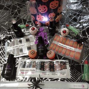 halloween nail wraps