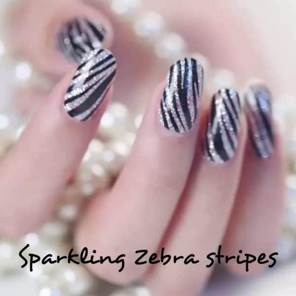 Bindy's-Nails-Sparkling-Zebra- Nail-Polish-Wrap