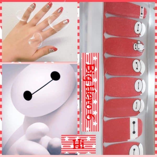 Big Hero 6 nail wraps