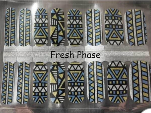 Fresh phase nail wraps