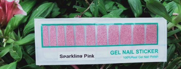 Bindy's Sparkling Pink Gel Wraps
