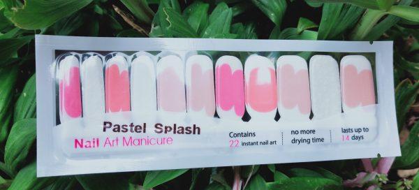 Pastel splash
