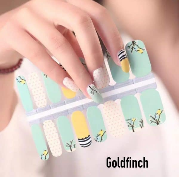 Bindy's-Nails-Wraps-Goldfinch