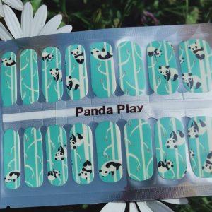 Bindy's-Nails-Wraps-Panda Play