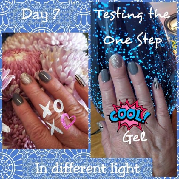 Bindy's- Nails-Testing-The -One-Step-Gel- Poster