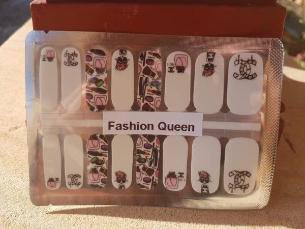 Fashion queen nail wraps