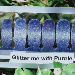 Bindy's Nails Glitter Me with Purple