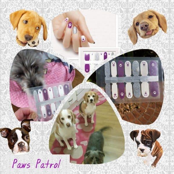 Bindy's Nails Paws Patrol Nail Polish Wraps