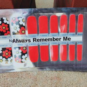 Bindy's Always Remember Me Nail Polish Wrap