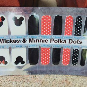 Bindy's Mickey & Minnie Polka Dots Nail Polish Wraps