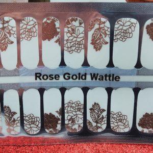 Bindy's Nails Rose Gold Wattle