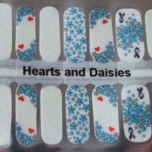 Bindy's Nails Hearts & Daisies