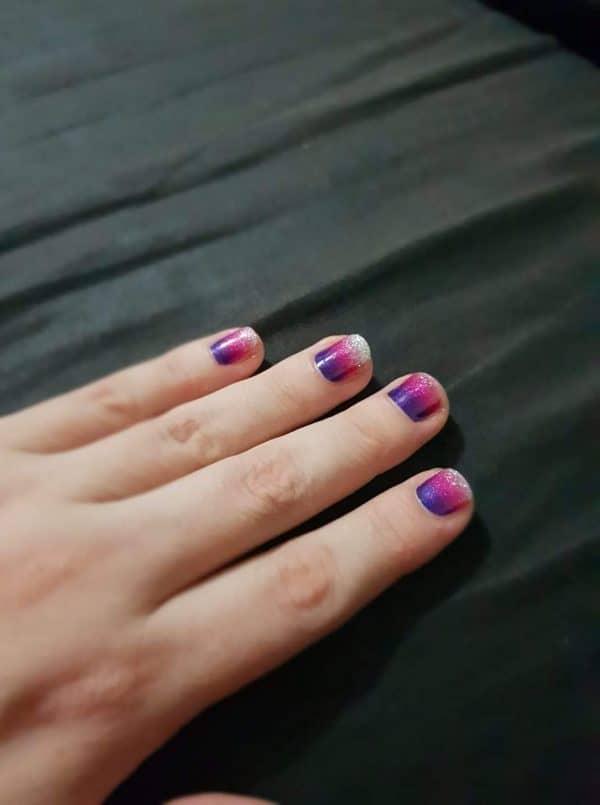 Bindy's Nails Purple Reign