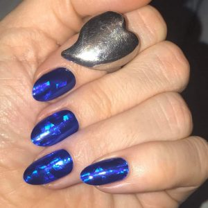 Bindy's Nails Metallic Blue