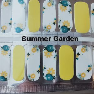 Bindy's Summer Garden Nail Polish Wrap