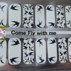 Bindy's Come Fly with Me Nail Polish Wraps