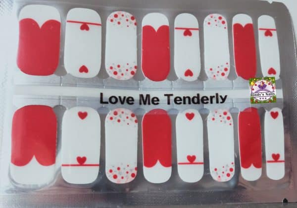Bindy's Nails Love Me Tenderly
