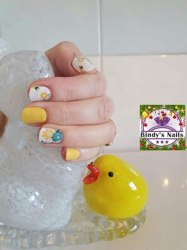 Bindy's Nails Summer Garden Nail Polish Wraps
