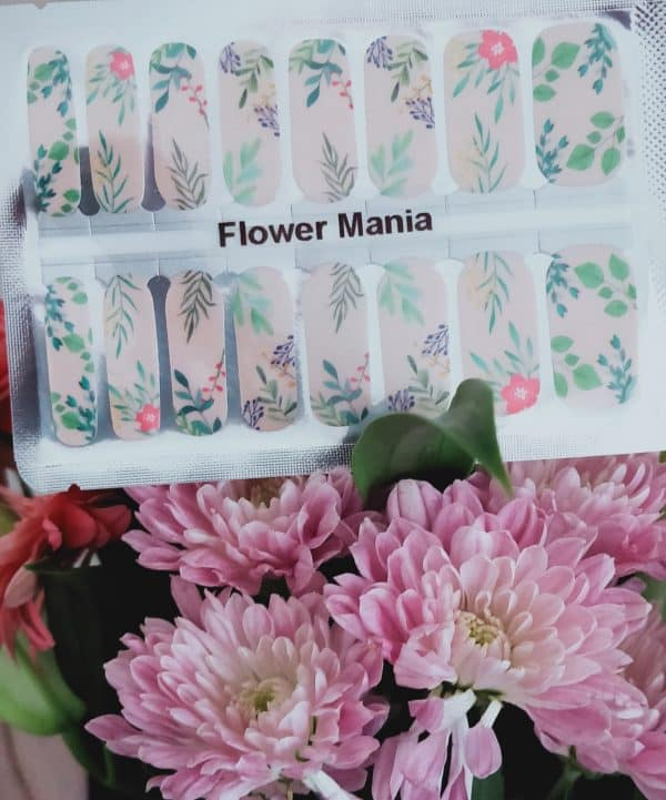 Bindy's Nails Flower Mania Nail Polish Wraps