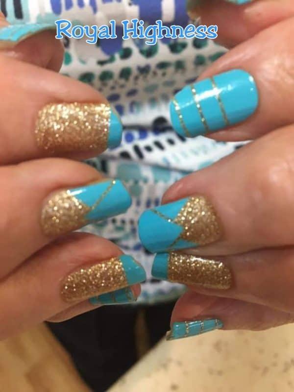 Bindy's Nails Royal Highness Nail Polish Wraps