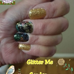 Bindy's Nails Glitter Me Garden