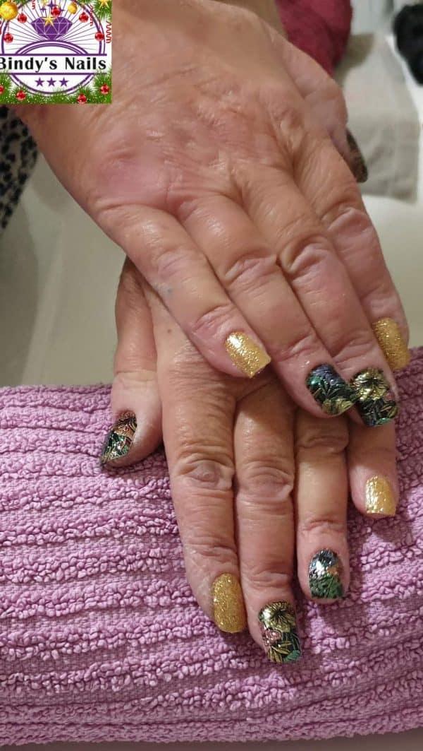 Bindy's Nails Glitter Me A Garden