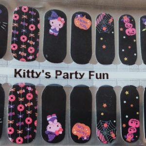 Bindy's Kitty Party Fun Nail Polish Wrap