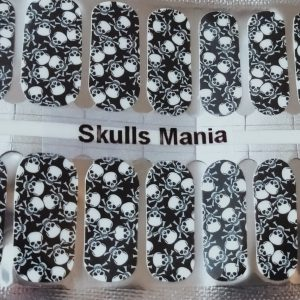 Bindy's Nails Skulls Mania Nail Polish Wraps
